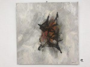 Fabeldyr med vinger str. 50 * 50 cm