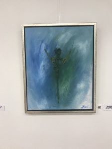Angel with a twist str. 40 * 50 cm