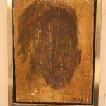 Maske - kul på akryl str. 18 * 24 cm