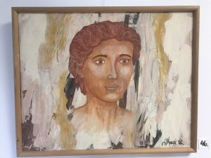 akryl maleri str. 40 * 50 cm